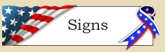 Graphic placeholder for Signs heading